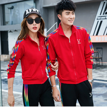 Women Lover  Two Piece Set Long Sleeve T Shirt  And Full Length Pant Sweat Suit Casual Striped Tracksuits Runway  Sporting Suit