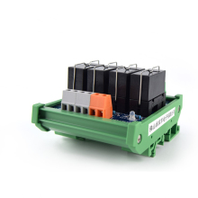 лучшая цена 4-way original Omron single open module 16A24V output driver board PLC amplifier board relay