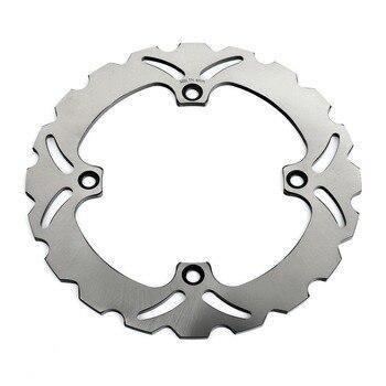 BIKINGBOY 260mm Stainless Steel  Rear Brake Disc Disk Rotor For Kawasaki KLV 1000 2004 2005 2006 2007 KLV1000 04 05 06 07