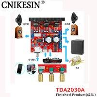 CNIKESIN komputer mega bass wzmacniacz mocy TDA2030A płyta 2.1 3 utwór wykończone subwoofer audio moc (gotowy produkt)