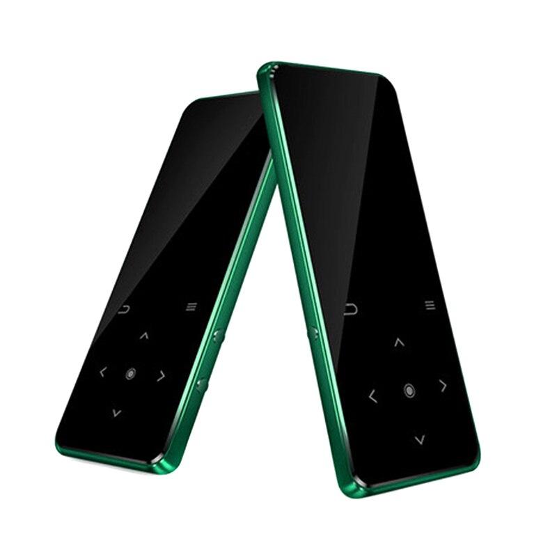 2.4 Pouces MP3 lecteur bluetooth Musique Ultra-mince Mini FM enregistreur radio Durable Sans Perte Son nouveauté