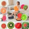 33 cm Bonito Fruta Redonda Almofada Assento Da Cadeira Sofá Chão Almofada Pillow Home Office Decoração