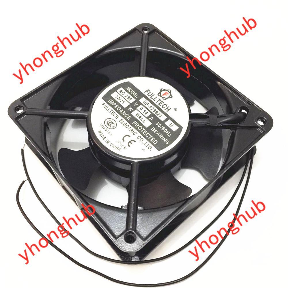 Emacro pour FULLTECH UF-123823 DC 230 V 0.14A 120x120x25mm ventilateur refroidisseur de serveur