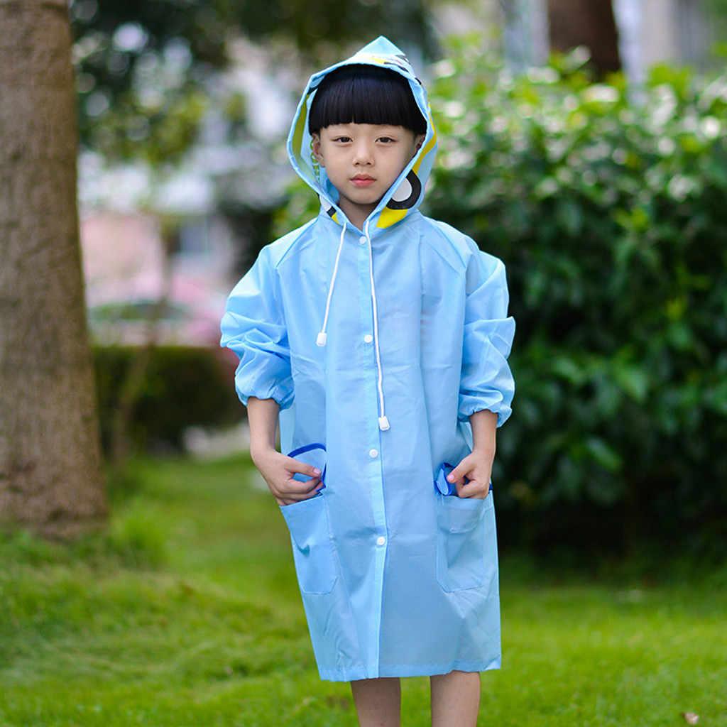 ילדים של מעיל גשם פעוט גשם מעיל בנות בני Cartoon מעיל גשם עמיד למים סלעית ארוך ילד בגדי גשם בגדי מיקי חם #06