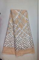 Мода Асо Ebi Кружева С Блестками Французский Чистая Кружева Высокого Качества Для Платья JK-150