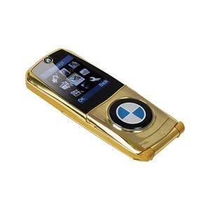 """Image 4 - Mosthink W760 Flip נייד טלפון Dual SIM כרטיסי 1.77 """"מיני מתכת גוף רכב סגנון מצלמה ליבה אחת כפתור רוסית מקלדת טלפון"""