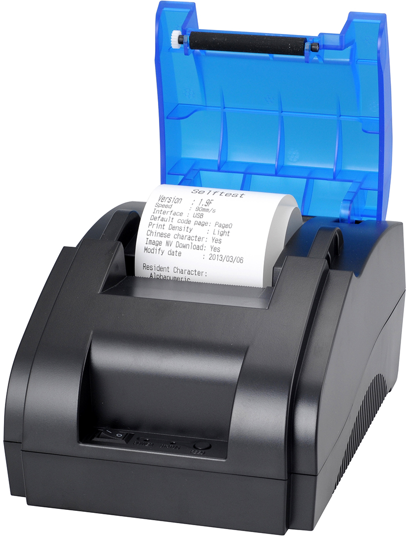 ФОТО Free shipping USB port 58mm Thermal printer Thermal recepit printer Pos printer Thermal pos printer wholesale