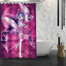 Hot Sale Custom Japanese Anime Custom Shower Curtain Waterproof Fabric Bath Curtain for Bathroom F#Y1-17
