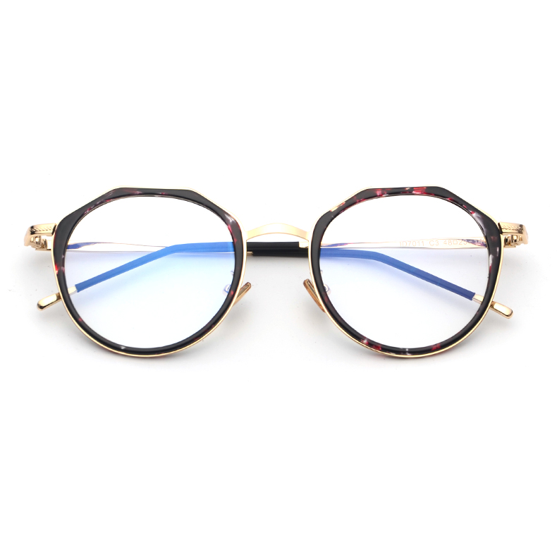 f3a757e845 Octagon Oval Vintage Retro Metal Full Rim Optical Prescription EYEGLASSES  FRAMES Men Women ID7011 Spectacle Eyewear UK Style-in Eyewear Frames from  Apparel ...