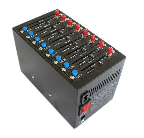 8 Ports gsm modem sim pool With Q24plus Module Quad-band USB Interface