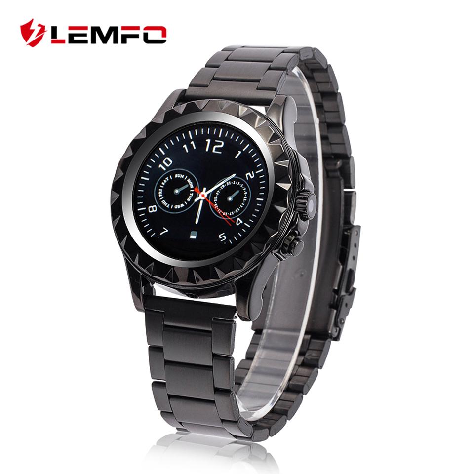 Prix pour LEMFO LF08 Bluetooth Smart Watch Poignet Smartwatch Podomètre Anti-perdu avec Caméra pour Samsung HUAWEI Xiaomi Android Phone Mate