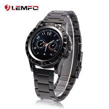 Lf08 lemfo bluetooth smart watch muñeca smartwatch podómetro anti-perdida con cámara para samsung huawei xiaomi android teléfono del compañero