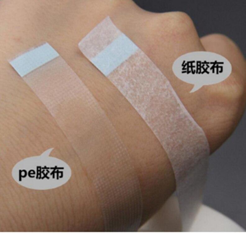 Profesional Ekstensi Bulu Mata Lint Mata Bantalan Sutra Putih Kertas Di Bawah Patch Alat untuk Palsu Bulu Mata Patch Plester Medis