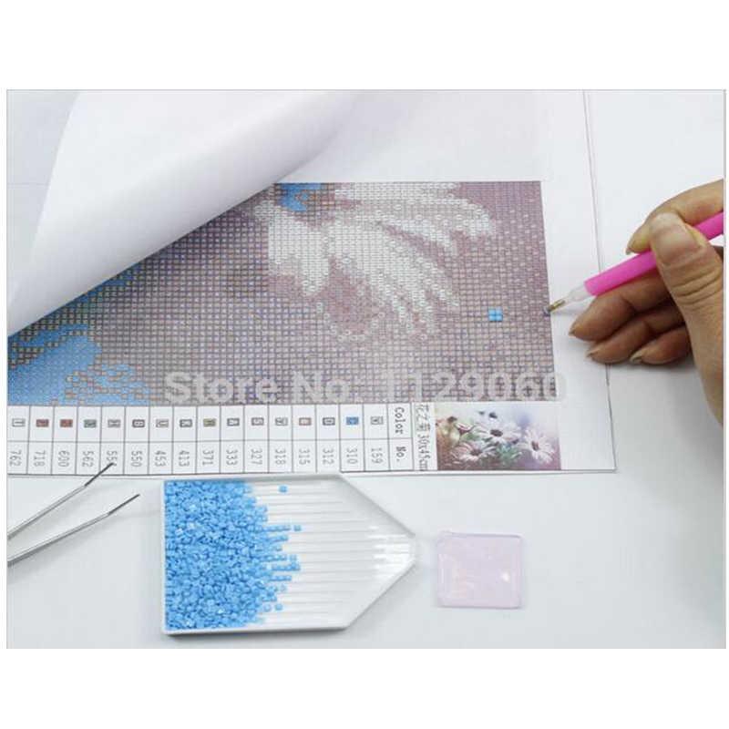 5D DIY Diamond Painting Cross Stitch Snow Men Card Gifts Square Drill 3D Diamond Embroidery Christmas Diamond Mosaic Rhinestones