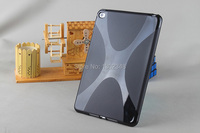 New Fashion Anti Skid Matte X Line Wave Soft Silicone Rubber TPU Gel Cover Protective Case
