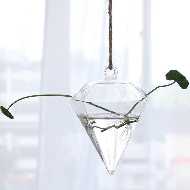 24 стиля стеклянная подвесная Ваза Бутылка Террариум гидропонный горшок Декор цветочные растения контейнер орнамент микро пейзаж DIY домашний декор - Цвет: 10x8cm