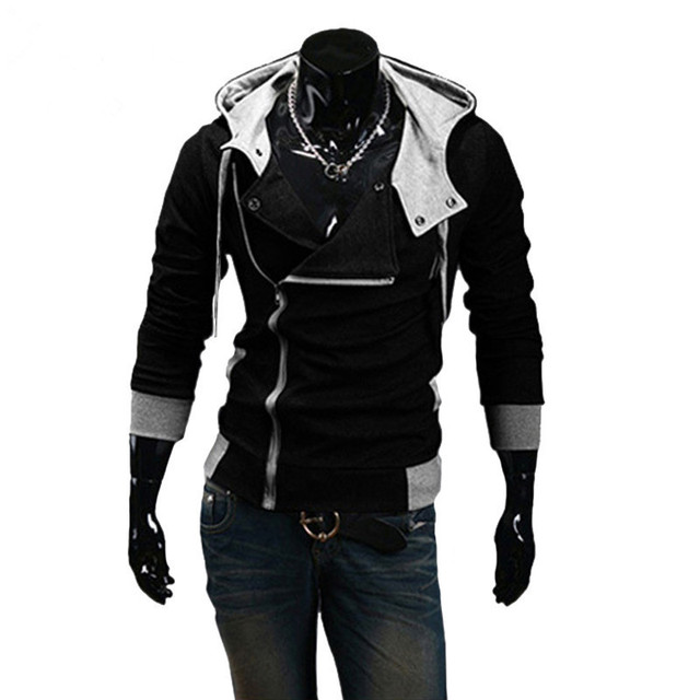 Winter&Autumn Fashion Brand Hoodies Men Casual Sportswear Male Hoody Zipper Long Sleeve Men Sweatshirt Jacket Plus Size 5XL