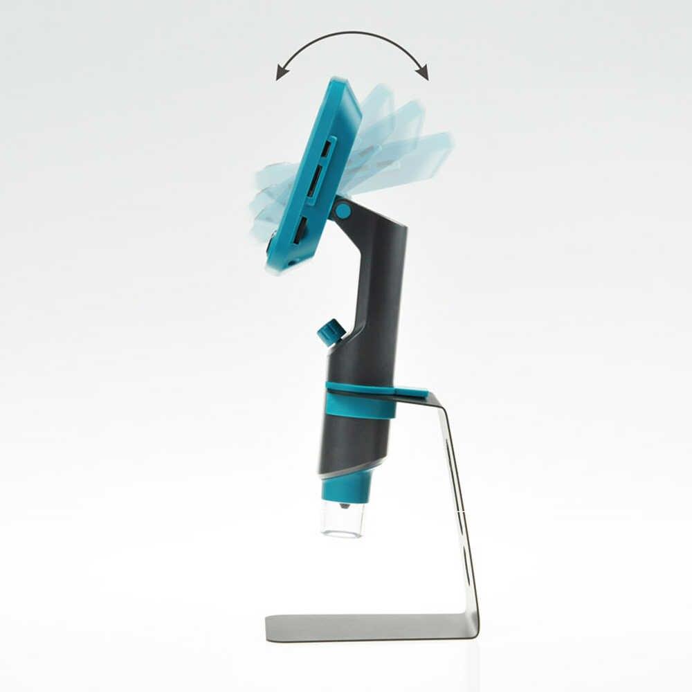 800x4.3 Pouces LCD Affichage Numérique Microscope Haute Luminosité 8 Led Portable USB Microscopes À Souder Mikroskop Loupe