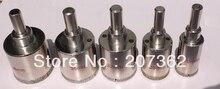 "5 pcs Diamond Hole Saw Drill Bit Set 3/4"" - 1 1/2"" inch GRANITE GLASS TILE"