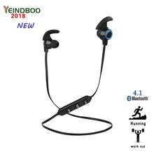 YEINDBOO Bluetooth Earphone Waterproof Sport Headphone 4.2 with Charging Cable Young Earphones Build-in Mic