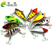 New Arrival 4pcs/lot Fishing Lures 4cm Artificial Hard Baits With 10# Treble Hooks HJ002 Free Shipping