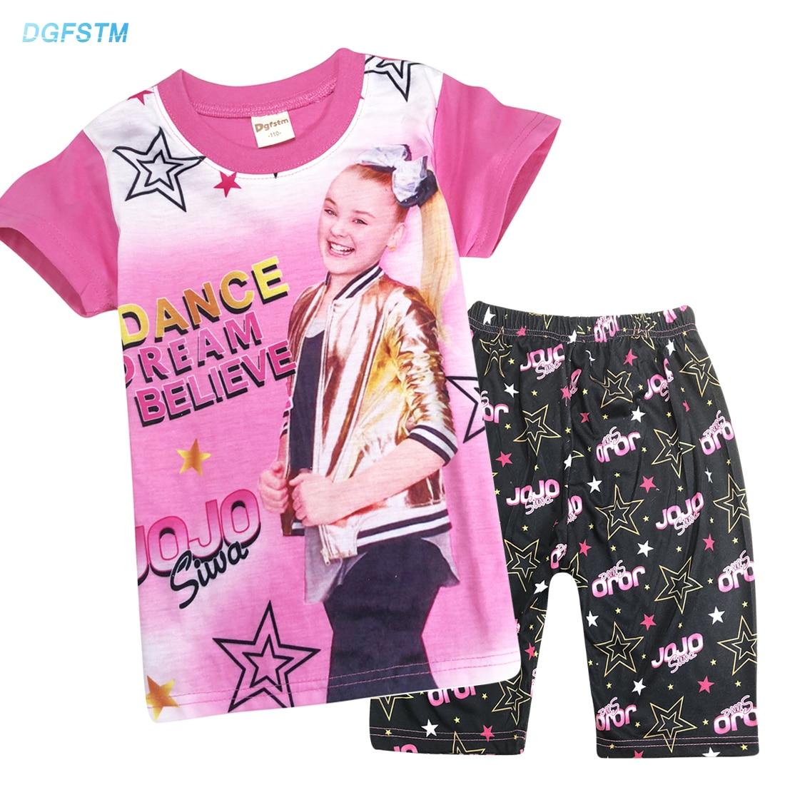 50c3e9e2b JoJo Siwa Pajamas Girls Long Sleeve Pj Set 2 Pc Shirt Pant