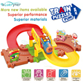 New design Thomas and his friends train Removable Double-deck Electric Train set Track Kids Children Baby Toys Christmas Gift