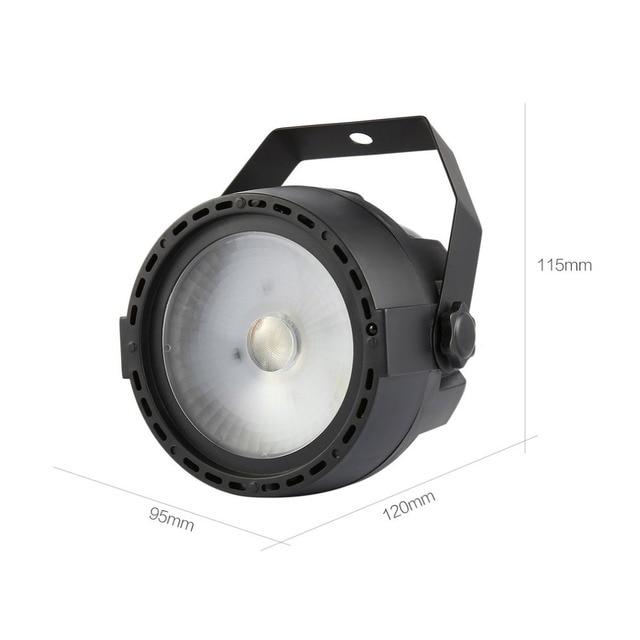 15 Вт светодиодные сценические огни мини-пульт дистанционного управления освещение спецэффекты Звуковое управление вспышка лампа для бара ...