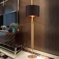 Modern American minimalist luxury personality designer model room metal floor lamp LED floor lamp led fixture led floor lighting