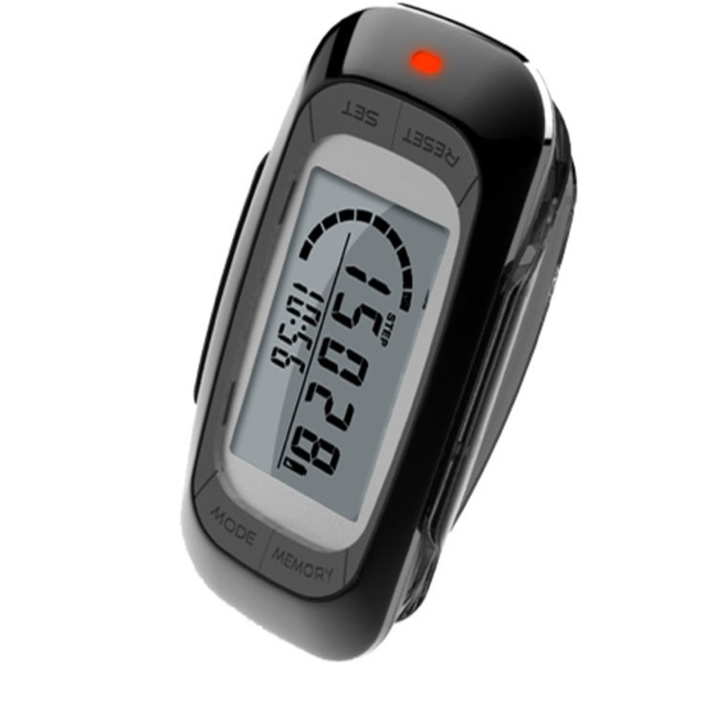 New 3D LCD Display Sensor Running Pedometer Multi Function Digital Pedometer with 7 Day Memory Steps Calorie Distance Counter in Pedometers from Sports Entertainment