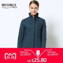 446f39250f4 Новая весенняя коллекция курток MIEGOFCE 2018 стильное ветрозащитное  женское пальто пиджак женский весенняя куртка(China