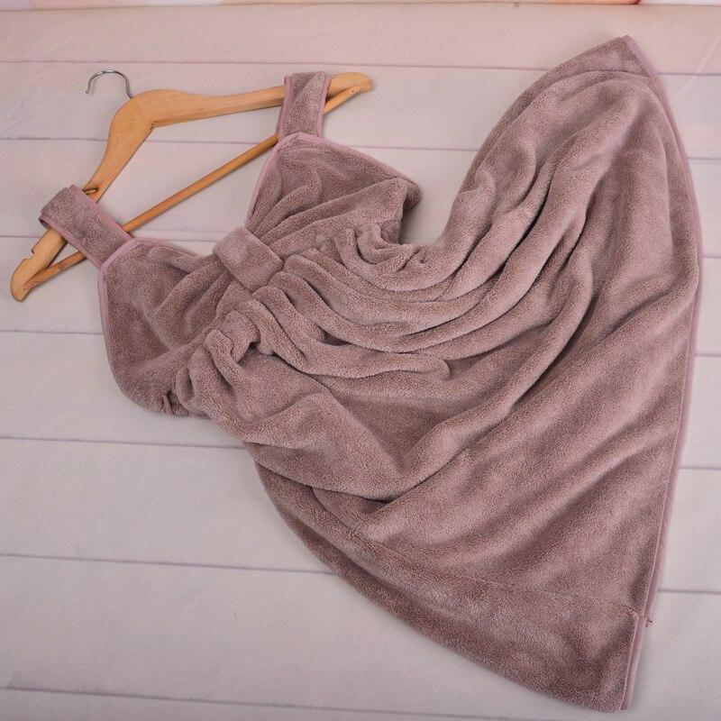 Femmes Belle absorbant en microfibre polaire Douche Spa Body wrap serviette de bain nouveau