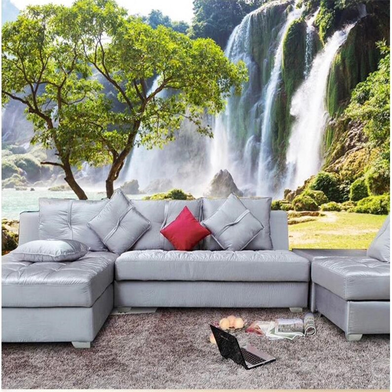 Buy Custom Photo Wallpaper Large Mural Living Room Sofa Stereoscopic Landscape