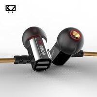 KZ ED9 Super Bowl Tuning Nozzles Headphones In Ear Earphone Heavy Bass HiFi Headset With Mic
