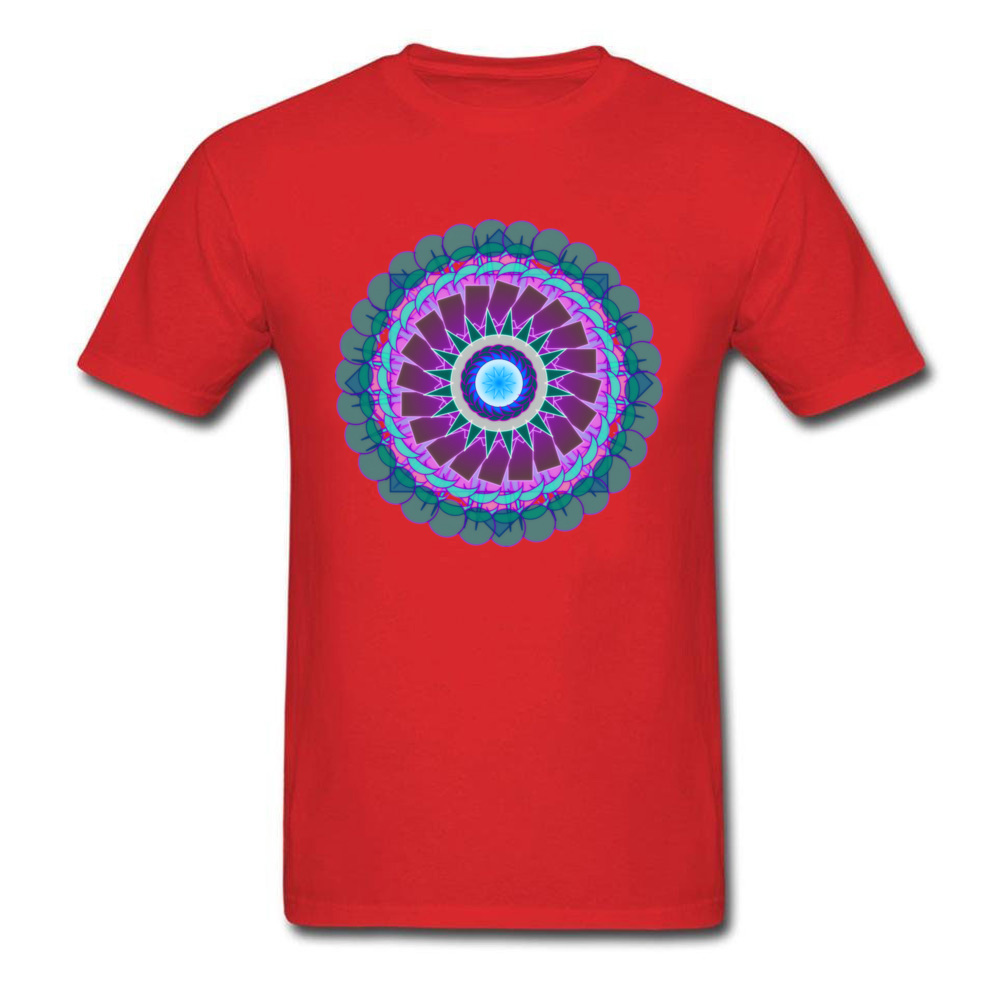 Mandala - Essence of Fluorite_red