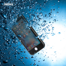 Remax NEW Original 2m Waterproof Phone Case for iPhone 6 6S/ 6 6S Plus 360 Degree Protection Cover Seamless Waterproof Case