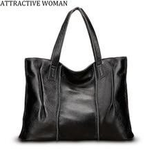 4d577cf6b8d8 100% натуральная кожа женская сумка большая женские кожаные сумки  известного бренда женские сумки через плечо