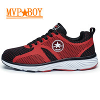 Mvp Boy Walking Jogging Net Surface Fly Line Shoes Hot Selling Summer Shoes Sta Shoes Free