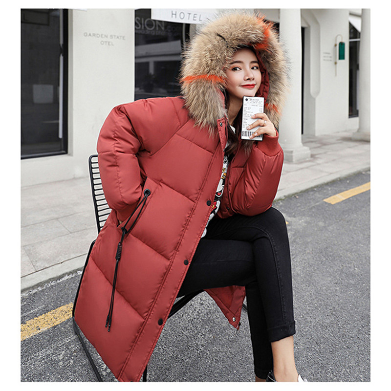 Maternity Winter Coat Women Jacket Fur Hooded Loose Padded Parka Female Thicken Down Jacket for Pregnant Women Parkas Snowsuit 2017 new fashion women long coat cotton padded clothes thicken winter female parkas lamb wool hooded drawstring jacket plus size page 1