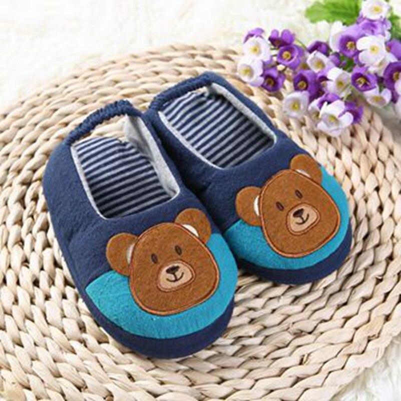 5a0698cb06d19 Enfant en bas âge bébé pantoufles enfants chaussures pour garçons ...