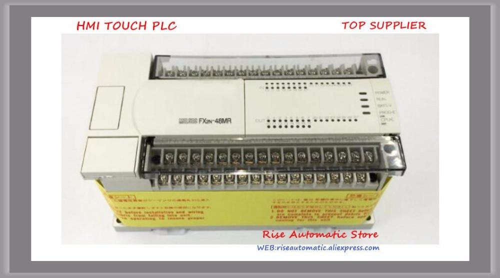 PLC AC 220 V FX2N-48MR-001 24 DI 24 FX2N-64MR-001 YAPMAK 32 DI 32 YAPMAK OrijinalPLC AC 220 V FX2N-48MR-001 24 DI 24 FX2N-64MR-001 YAPMAK 32 DI 32 YAPMAK Orijinal