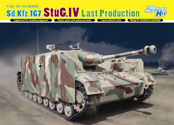 Dragon model 6647 1/35 Sd.Kfz.167 StuG.IV Last Production plastic model kit trumpeter 01006 1 35 maz 537 last production