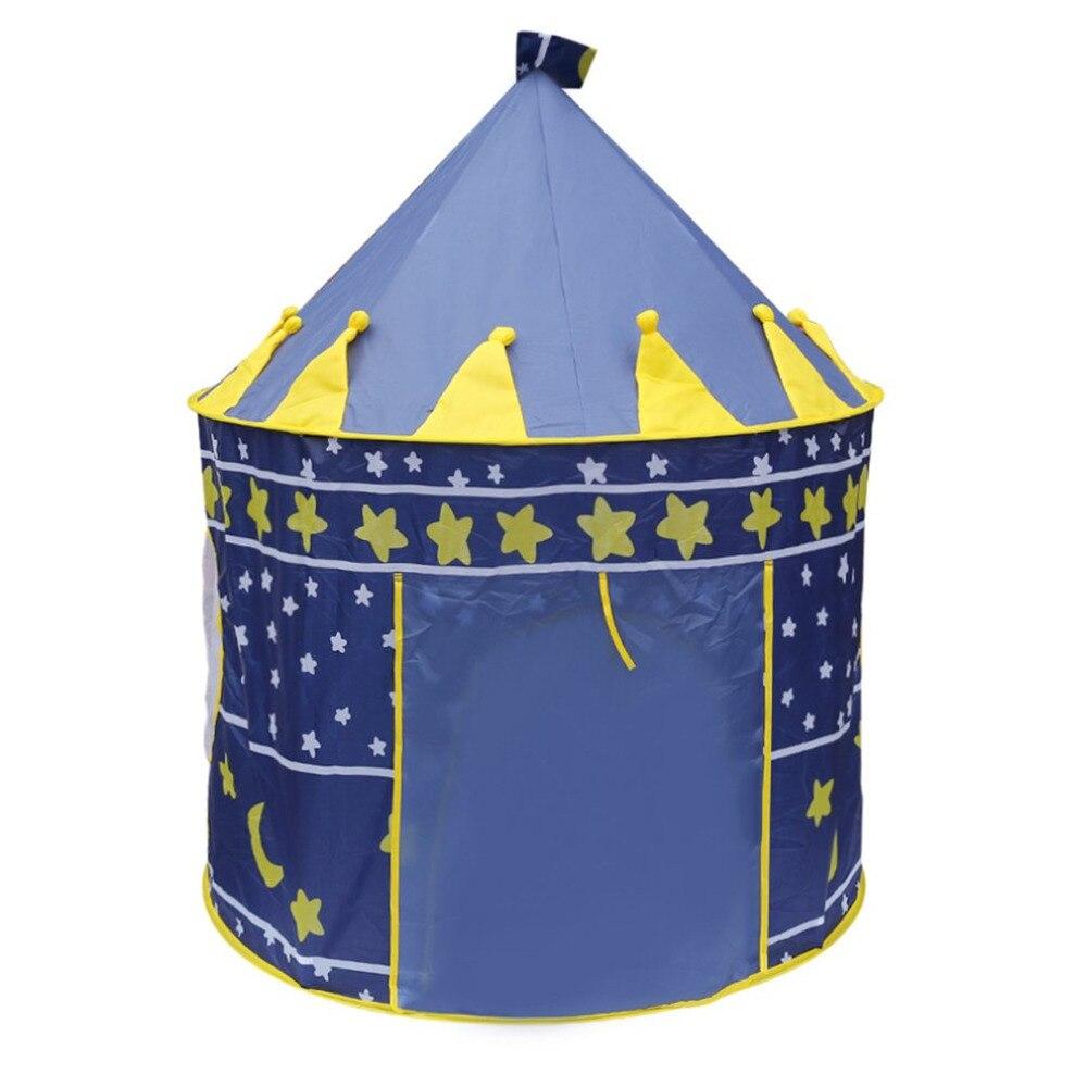 キャッスルプレイテントポータブル折りたたみティピ王子折りたたみテント子供キャッスルカビープレイハウスギフト用キッズ屋外玩具テント