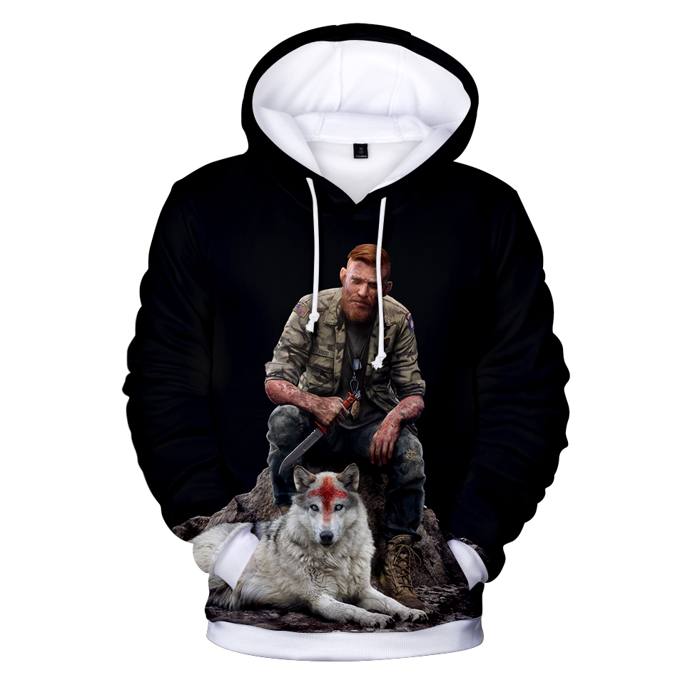 Far Cry 5 Fashion 3D Printed Hoodies Male Female Casual Hooded Sweatshirts Popular Game Streetwear Hip Hop Leisure Hoodies image