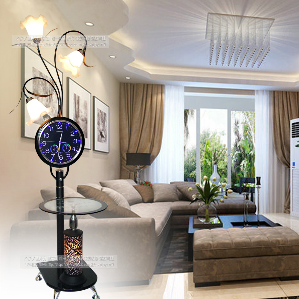 Modern with a table of coffee table floor lamp fashion creative living room bedroom Floor Lamps ZL1 morning ya73 coffee table resin 110v 220v e27 led floor lamps simple fashion princess floor lamp vintage living room bedroom lighting