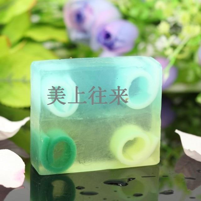 Four-space essential oil soap mint soap jasmine bath soap antibiotic moisturizing sulfur soap acne G13