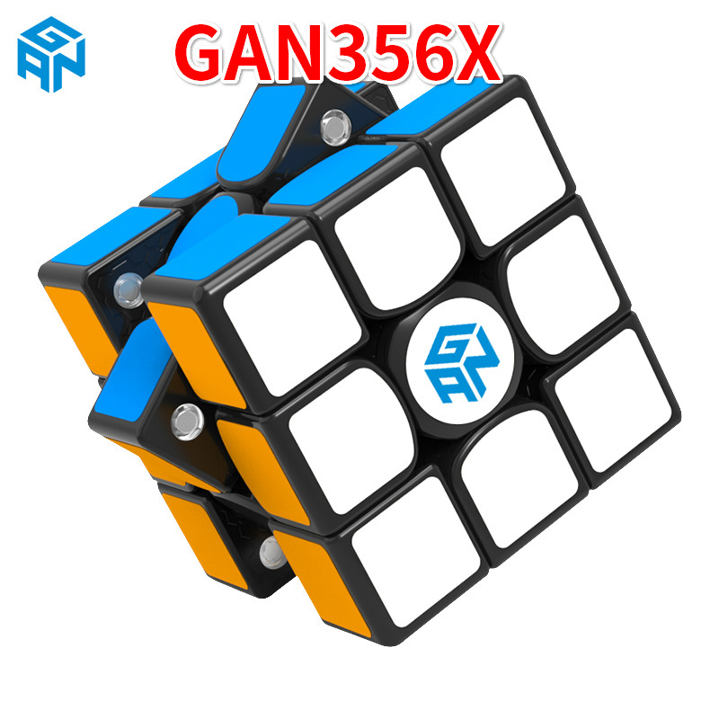 New Gan356 X Magnetic 3x3x3 Speedcube Professional Speed Magic Cube Gans 356 X 3x3 Cubo Magico Gan 356 X Puzzles For Children Tool Organizers