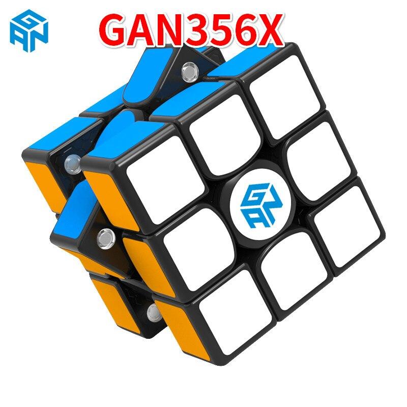 Nouveau GAN356 X magnétique 3x3x3 Speedcube professionnel vitesse magique Cube Gans 356X3x3 Cubo Magico GAN 356 X Puzzles pour enfants