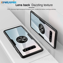Case For Samsung S10 Plus Galaxy Lite Magnetic Holder Stand Ring Cover Note 9 S9 360