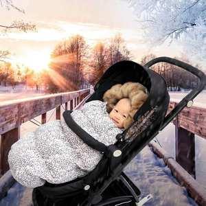 Baby Stroller Envelopes Sleeping-Bag Winter Warm for Newborn